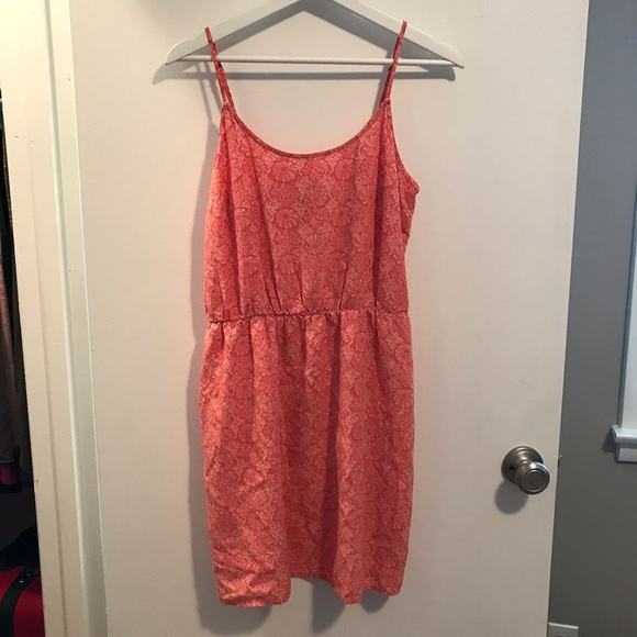 Old Navy Dresses & Skirts - Old Navy Coral Print Dress